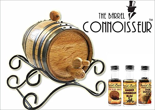 The Barrel Connoisseur Rum Making Kit (1 Liter) by Thousand Oaks Barrel Co.