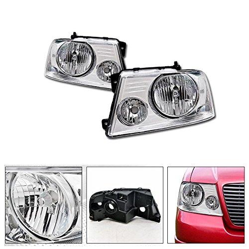 Vxmotor 2004 2008 Ford F150 2006 2008 Lincoln Mark Lt Factory Crystal Style Chrome Head Lights Headlights Signal Light Headlamps Lamp Nb