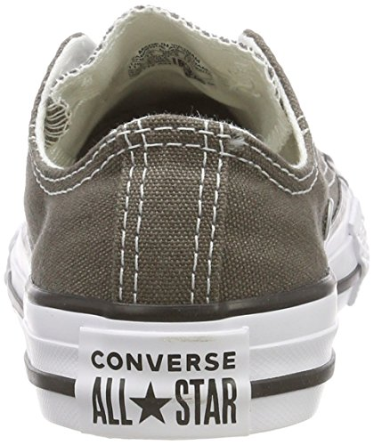 Charcoal Converse 010 Marron Ctas Season mixte Ox Baskets mode enfant 8AUTw1qx8