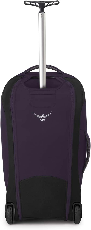 Amulet Purple O//S Osprey Fairview Wheels 65 Sac de voyage /à roues femme