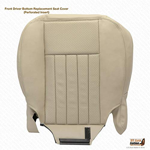 (US Auto Nation Lincoln Navigator Driver Side Bottom Replacement Leather Seat Cover)