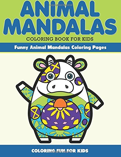 Animal Mandala Coloring Kids Funny product image