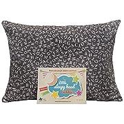 Little Sleepy Head Toddler Pillowcase - Cuddle Collection (alphabet Gray), 13  X 18