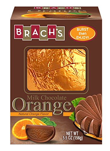Brach's Candy Premium Milk Chocolate Orange Ball, 5.5 Ounces