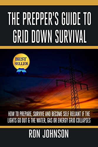 The Prepper's Guide To Grid Down Survival: How To Prepare, Survive And Become Self Reliant If The Lights Go Out & The Water, Gas Or Energy Grid Collapses (SHFT Plan, DIY Prepping, Prepper Hacks) by [Johnson, Ron]