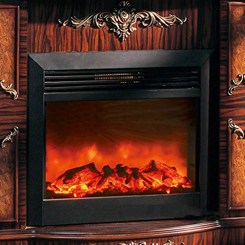Cheap Liu Weiqin Electric Fireplace - Fireplace Heater - with Remote Control - 575 Wide 550 high 200 deep mm Heating Power: 1000W / 2000W Black Friday & Cyber Monday 2019