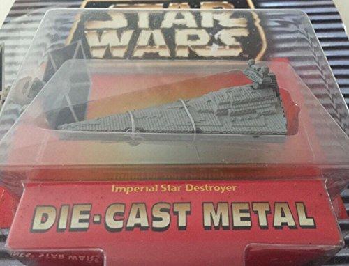 Qiyun Vintage 1996 Galoob Star Wars Imperial Star Destroyer Die Cast Metal 047246662630 -