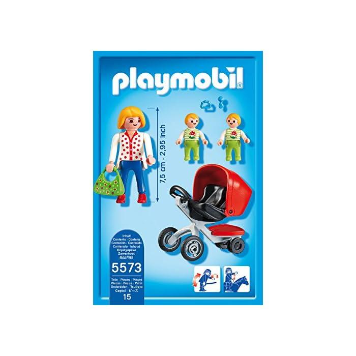 51ihjps16kL Juguete educativo que fomenta el juego simbólico Aumenta la creatividad y la imaginación de los niños Con figuras y accesorios, el set tiene un total de 15 piezas