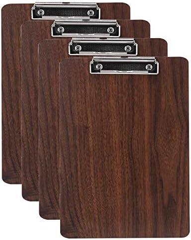 School Smart Hardwood Clipboard Letter Size