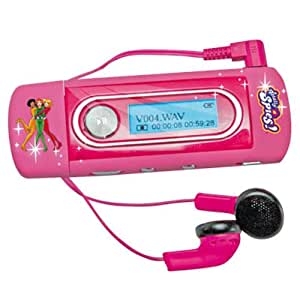 Canal Toys TSCINE001 - Reproductor MP3, color rosa