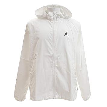 modisches und attraktives Paket detaillierter Blick achten Sie auf Nike JSW Wings GFX Windbreaker Jacke, Herren, Weiß (White ...