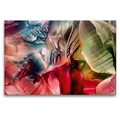Calvendo Encaustic - Juego de Mesa, 120 x 80 cm: Ulrike Kröll ...
