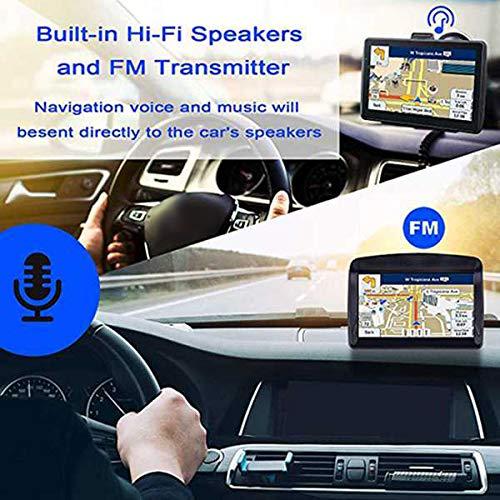 Semoic Navigatore GPS da 7 Pollici per Auto Smart Press Navigazione Schermo Mtk 8G 256 M Giocatore Mp3 Mp4 Mappa di Guida Navigatore Vocale Mappa del Medio Oriente