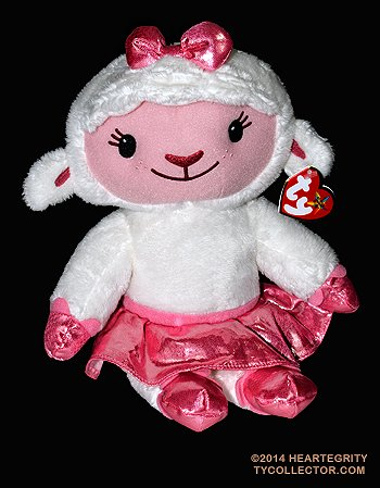 Lambie Lamb Beanie Medium - Stuffed Animal by Ty (90155) by Ty Beanies by Ty Beanies -