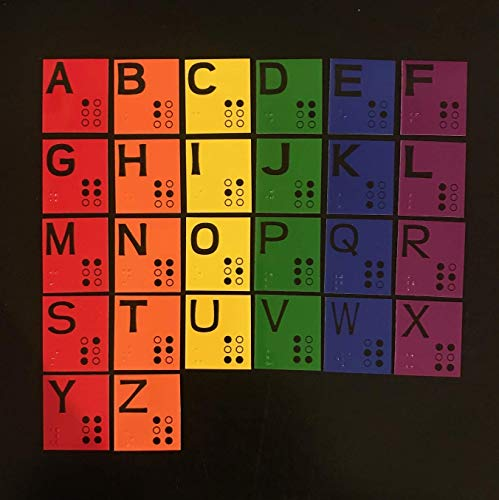 - Magnetic Braille Alphabet Set for Learning Braille - Low Vision - Now Available in 3 sizes!