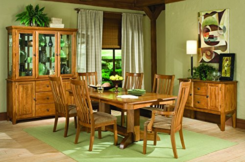 "Intercon Highland Park 7 Pc Dining Set (42 x 96, 2-18"" Storing Lf)"