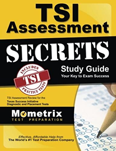 tsi assessment secrets study guide tsi assessment review for the rh amazon com tsi assessment study guide book tsi assessment secrets study guide pdf