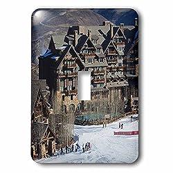 3dRose lsp_143218_1 USA, Colorado, Beaver Creek, Ritz Carlton Hotel Us06 Wbi0050 Walter Bibikow Single Toggle Switch
