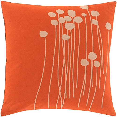 Surya Country & Floral Square pillow 18