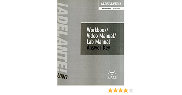 Adelante Uno 2nd Edition Answer Key Vhl 9781618579010 Amazon Com Books