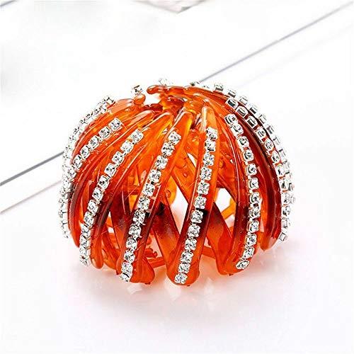 Bud For Women Plate Head Ornament Curler Roller Donut Bezel Hair Accessories (size - C)