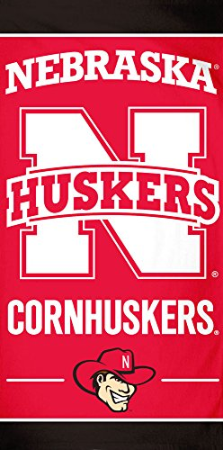 (McArthur University of Nebraska Cornhuskers Beach Towel, 30 X 60 Inch, Fiber)