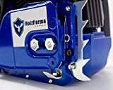 Farmertec Holzfforma 72cc Blue Thunder G388 Gasoline Chain Saw Power Head Only Without Guide Bar and Saw Chain All Parts are Compatible with 038 038 AV 038 MS380 MS381 Magnum Chainsaw
