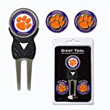 Clemson University Tigers 3 Marker Signature Divot Tool Pack