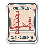 2 x 30cm- 300mm Golden Gate Bridge San Francisco Vinyl SELF ADHESIVE STICKER Decal Laptop Travel Luggage Car iPad Sign Fun #6386