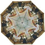 PealRa Young Women Reading a Letter Super Mini Umbrella