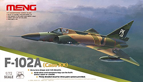 Meng F-102A Case XX Building Kit (1/72 Scale) for sale  Delivered anywhere in USA