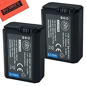 BM Premium NP-FW50 Batteries