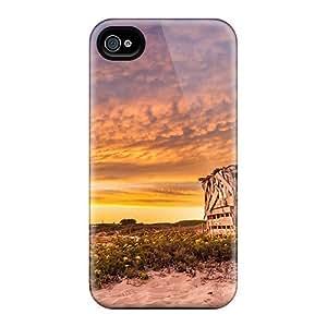 Luoxunmobile333 KWK2317joPu Protective Cases For Iphone 6plus(sunset Sea)
