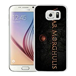 High Quality Samsung Galaxy S6 Case ,game of thrones valar morghulis White Samsung S6 Cover Unique And Fashion Designed Phone Case