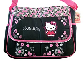 8f1790cffd65 Amazon.com   Sanrio Hello Kitty Diaper Bag -Kitty Baby Bag.   Diaper Tote  Bags   Baby
