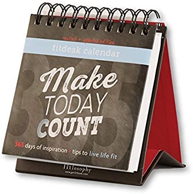 Amazon Com Fitlosophy Make Today Count 365 Day Inspirational