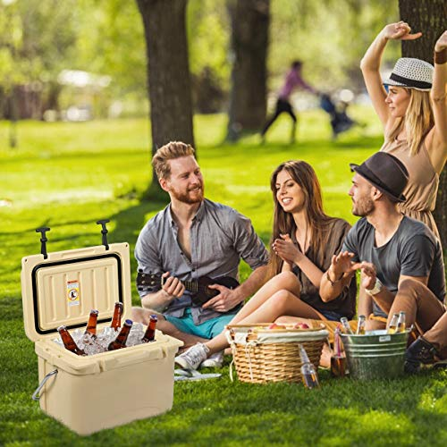 Cold Beverage Merchandisers - Alek...Shop Cooler Bin Compact Portable 22 Quart 30 Cans Travel Hand Bag in-Outdoor Home Convenient Activity Picnic Patio Party Camping Perfect Cool Your Enjoy Drinks, Such Beer, Beverage, Juice