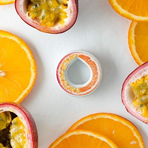 air up Duft-Pods für air up Trinkflasche - 6er Pack für insgesamt 30 Liter Geschmack in den Geschmacksrichtungen Limette, Zitrone-Hopfen, Orange-Maracuja, Apfel und Pfirsich (Orange-Maracuja)