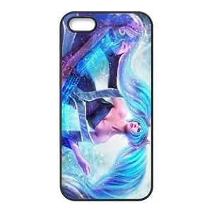 iphone5 5s phone case Black Sona league of legends SSS6570157