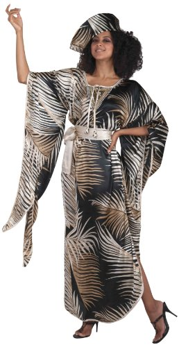 America Costumes For Coming Halloween To (Forum Novelties Women's African Queen Costume, Multicolor,)
