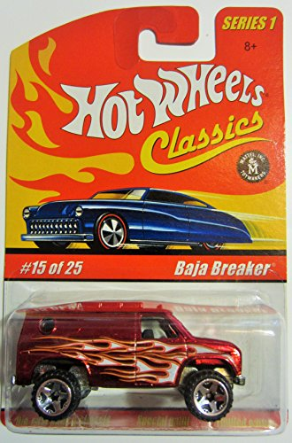 Baja Breaker Hot Wheels Classics Series 1 - Red 15 of 25