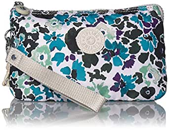 Kipling Creativity Extra Large Pouch, Blue field Floral