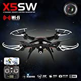 Syma X5sw Explorers-ii FPV 2.4ghz UFO Rc Drone Quadcopter 2mp Wifi Camera- Black