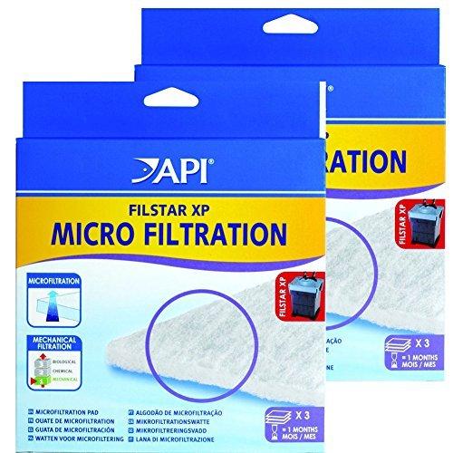 (API Filstar XP Filter Micro-Filtration Pads, 6-Count)