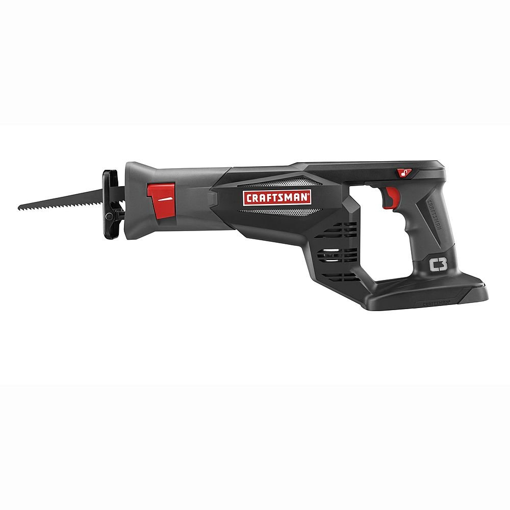 Craftsman C3 CRS1000 Reciprocating Saw Tool Only – No Battery or Charger included