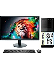 "Computador Completo Intel Core i3 6GB HD 1TB Monitor LED 24"" HDMI EasyPC Go"