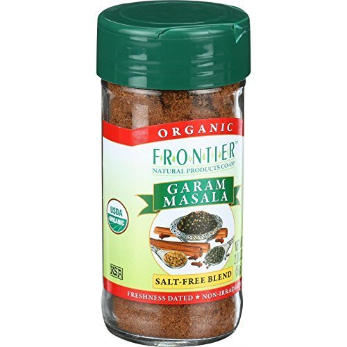 Frontier Herb Garam Masala Seasoning Blend - Organic - 2 Oz