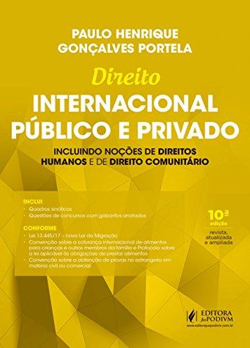 Direito Internacional Público e Privado: Incluindo Noções de Direitos Humanos e Comunitário