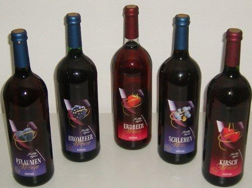 Fruchtweinvielfalt 5x1 Liter