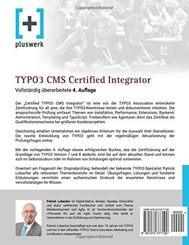 TYPO3 CMS Certified Integrator: Vorbereitung auf die Prüfung der ...